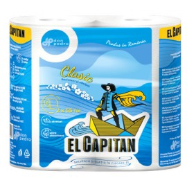 Set 2 Role Prosop de Bucatarie El Capitan 2 Straturi