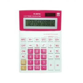 Calculator de Birou Mare Color cu 12 Digiti KK-8875-C