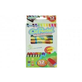 Creioane Cerate Mari 12 Culori