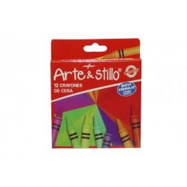 Creioane Cerate Mici 12 Culori