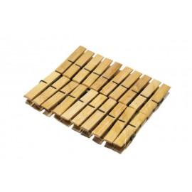Carlige pentru Rufe din Bambus 20 buc