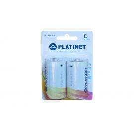 Baterii Alcaline R20 2 buc/set Platinet