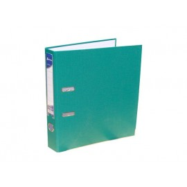 Biblioraft plastifiat 55 mm Okerman verde