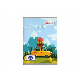 Vocabular 24 file Okerman 120 x 170 mm