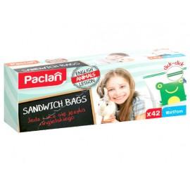 Pungi Sandwich Zipper 42 buc Paclan