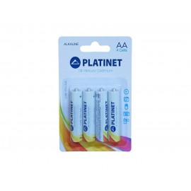 Baterii Alcaline R6 4 buc/set Platinet