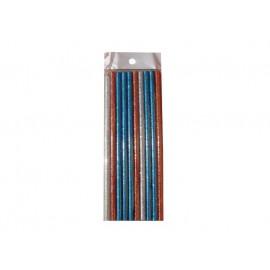 Batoane Silicon Color pentru Pistolul Electric 10 buc
