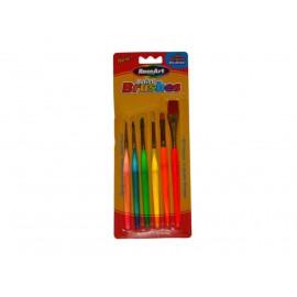 Pensule tiplate Brushes 6 buc
