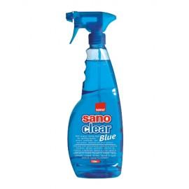 Detergent Geam 1l cu Pulverizator Sano Clear Blue Trigger