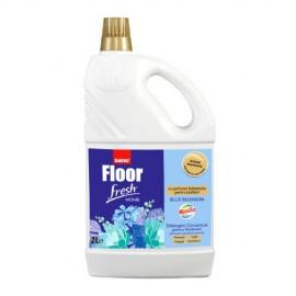 Detergent pentru pardoseli ceramice Sano Floor Fresh Home 2 litri Blue Blossom