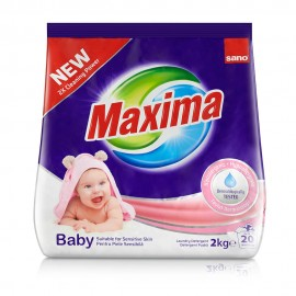 Detergent Pudra Sano Maxima Baby 2 kg