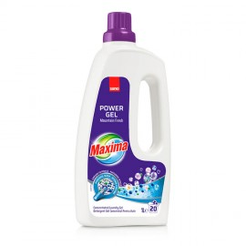 Detergent de Rufe Sano Maxima Power Gel Mountain Fresh 1 l