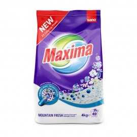 Detergent Pudra Sano Maxima Mountain Fresh 4 kg