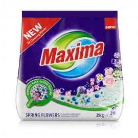 Detergent Pudra Sano Maxima Spring Flowers 2 kg