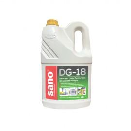 Detergent Vase Profesional DG-18 Sano 4 l