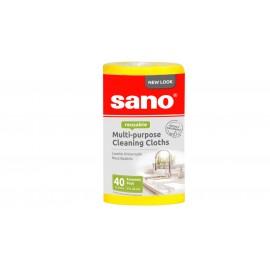 Rola Lavete Universale 40 buc Sano Yellow