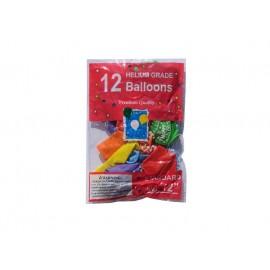 Set 12 Baloane Happy